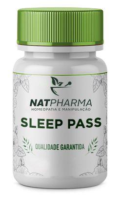 Sleep Pass - Combate a insônia e melhora o sono - 30 caps