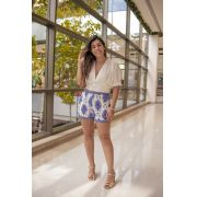 SHORTS RENDA AZULEJO