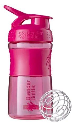 BLENDER BOTTLE SPORT MIXER ROSA (590ML) - BLENDER BOTTLE