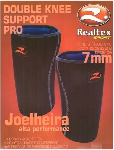 JOELHEIRA NEOPRENE ALTA PERFORMANCE DOUBLE KNEE SUPPORT PRO - REALTEX