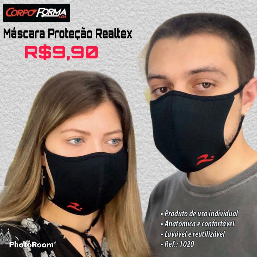 MASCARA DE PROTEÇÃO REALTEX