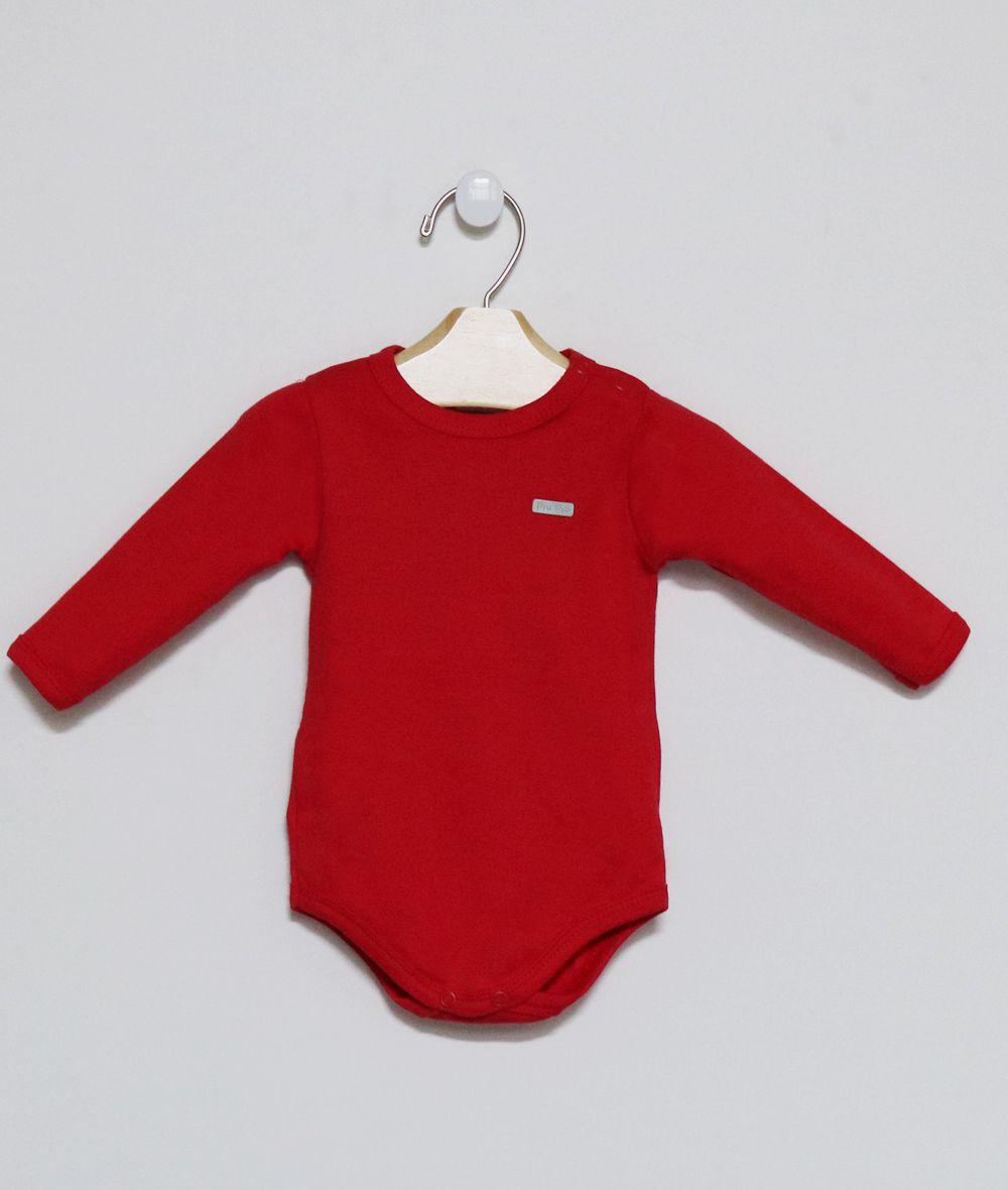 Body Comprido Vermelho