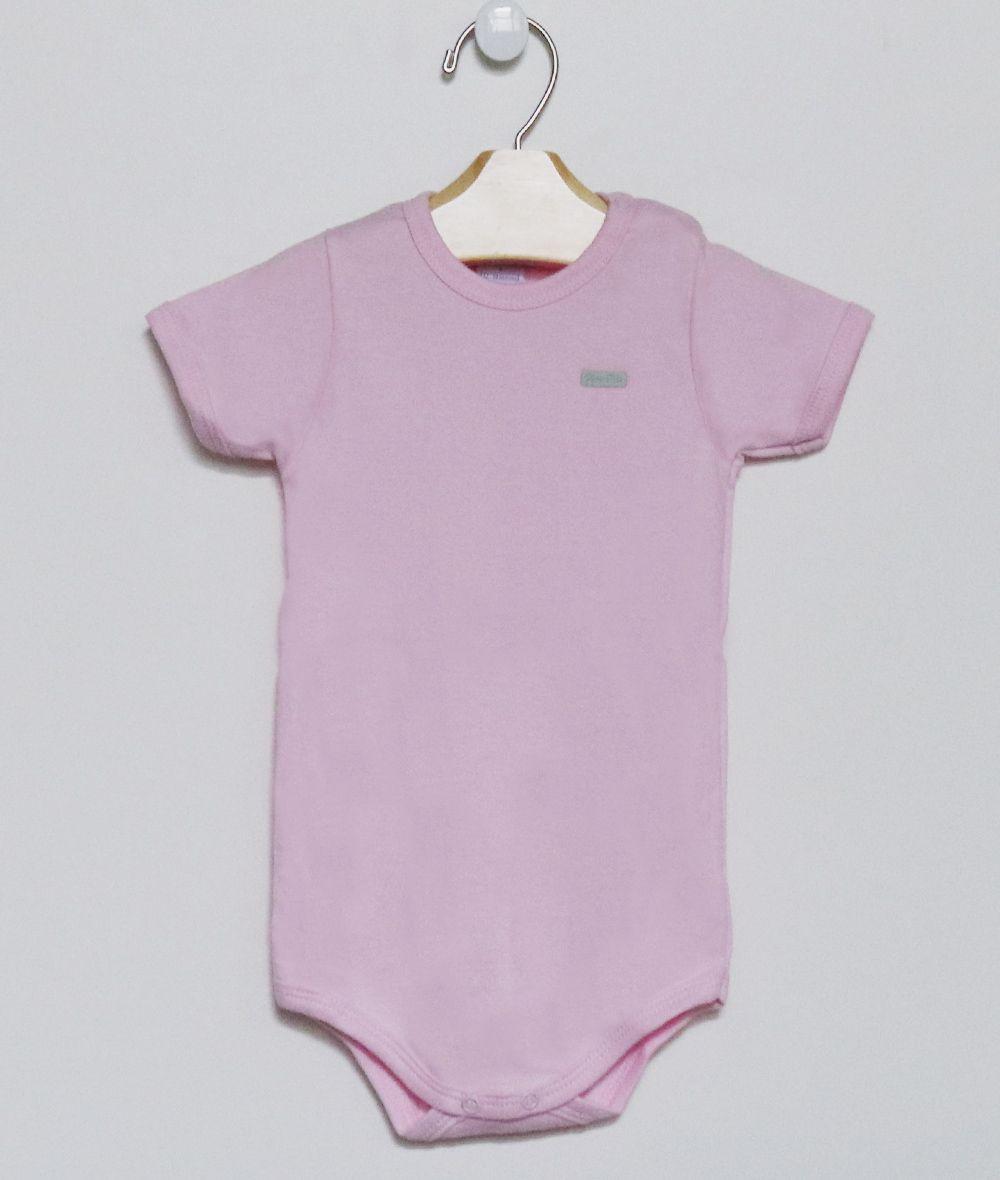 Body Curto Rosa Bebê