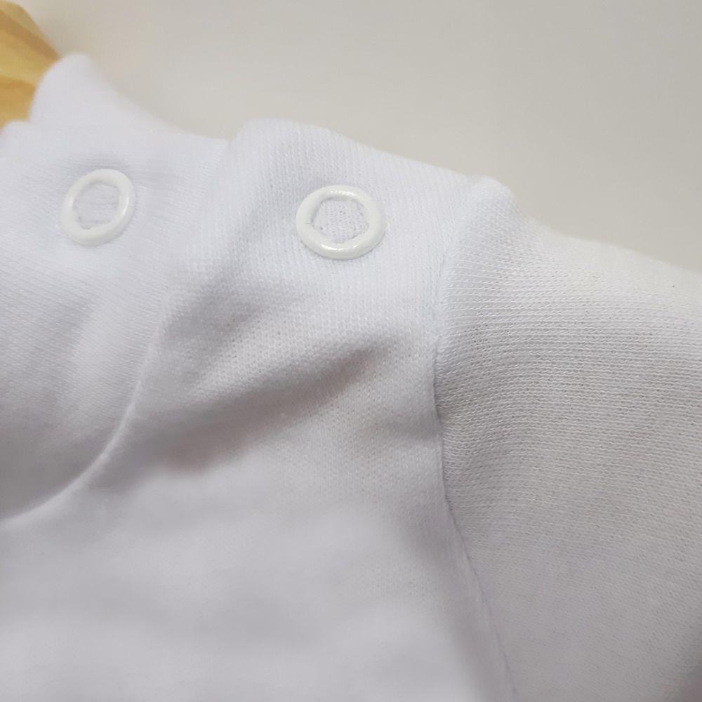Body Gola Alta Branco