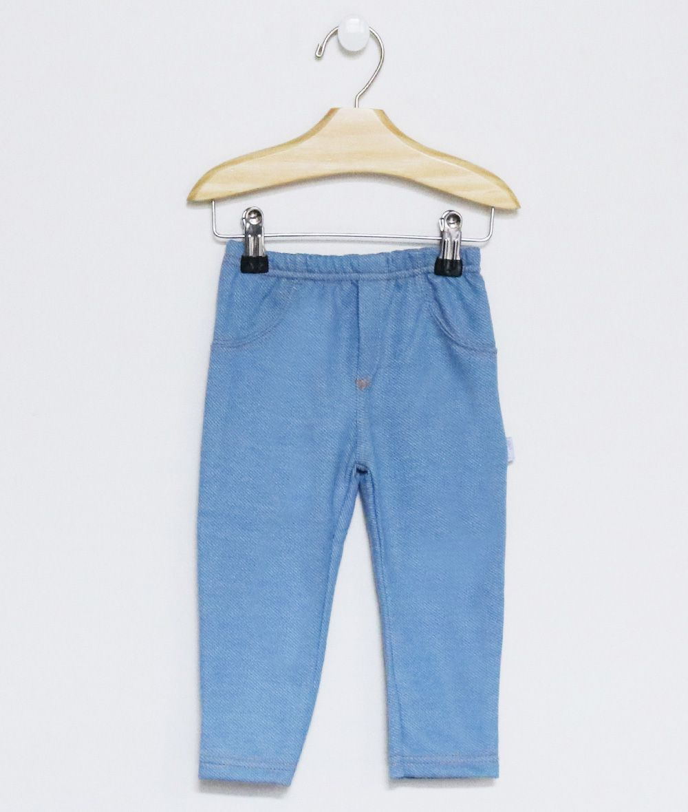 Calça Malha Jeans