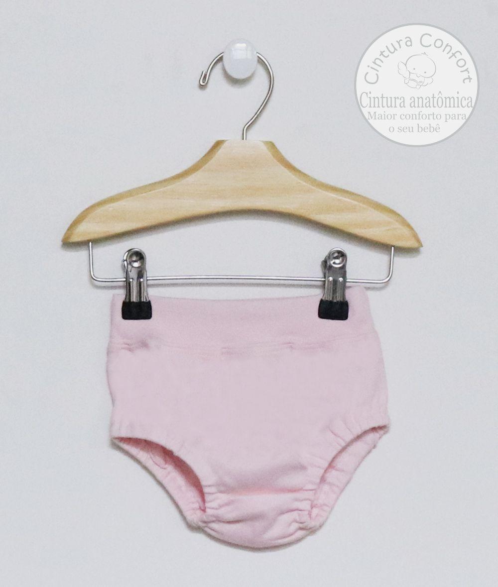 Conjunto Cobre-Fraldas Rosa Bebê
