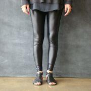 Calça Legging Adulto Básica Brilhante Black