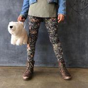 Calça Legging Infantil Estampada Bambi