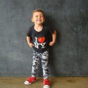 Calça Legging Infantil Estampada Camuflada