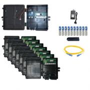 Kit Ilha Xwave Metro Destacável FAST 2.0 - 50 Clientes - Planos de até 50 Mbps