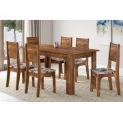 Conjunto de Mesa Primus com 6 Cadeiras Firenze - Sonetto