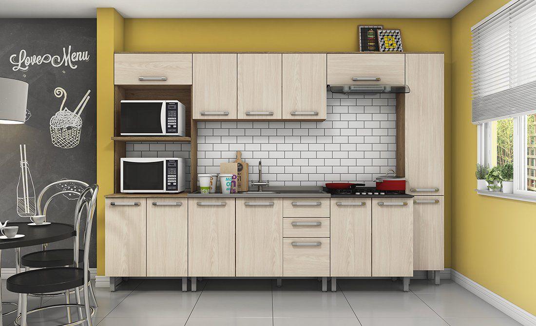 Cozinha Modulada Space 3 - Henn