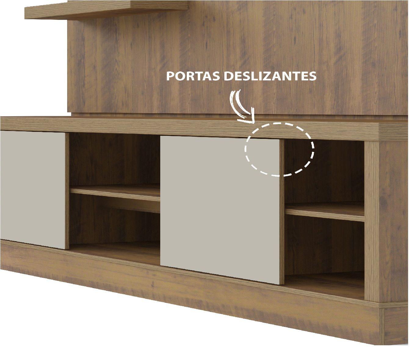 """HOME BOSS 2 PORTAS PARA TV ATÉ 50"""" - ARTELY"""