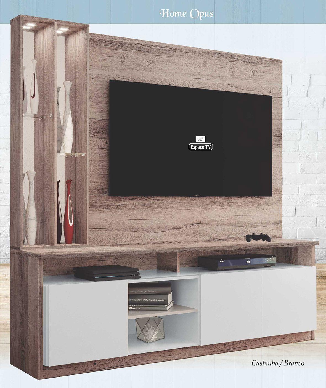 """Home Opus para Tv até 51""""  - Astra"""