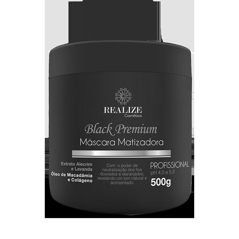 Black Premium - Máscara Matizadora