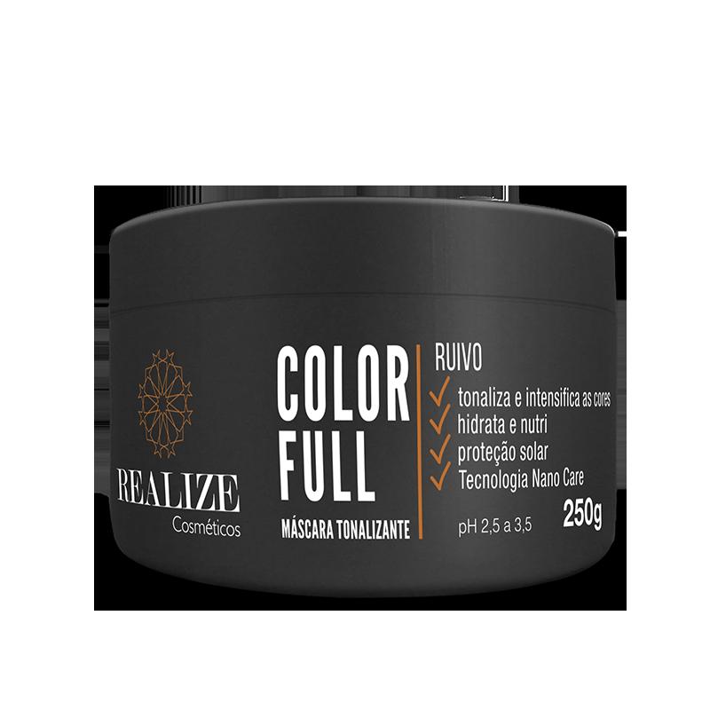 Color Full Ruivo - Máscara Tonalizante