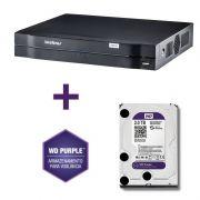 DVR Stand Alone Multi HD Intelbras MHDX-1108 08 Canais + HD 3TB