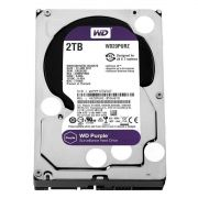 HD Interno Wd Purple 2-TB Sata 6gb/S 7200 Rpm Para Vigilância/Dvr Wd20purx Intelbras
