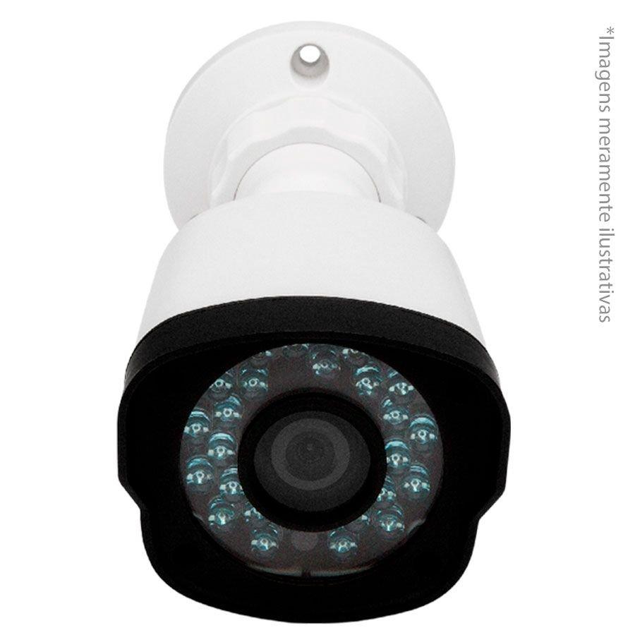 Câmera Bullet Infravermelho Híbrida Intelbras VM 1120 IR G4 - AHD HD 720p e Analógica 900 Linhas e Lente de 2.6 mm