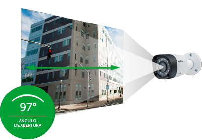 "Câmera de Segurança  VHD 3120 Bullet G4 Multi HD Sensor 1/4"" Infravermelho Alcance 20m - Intelbras"