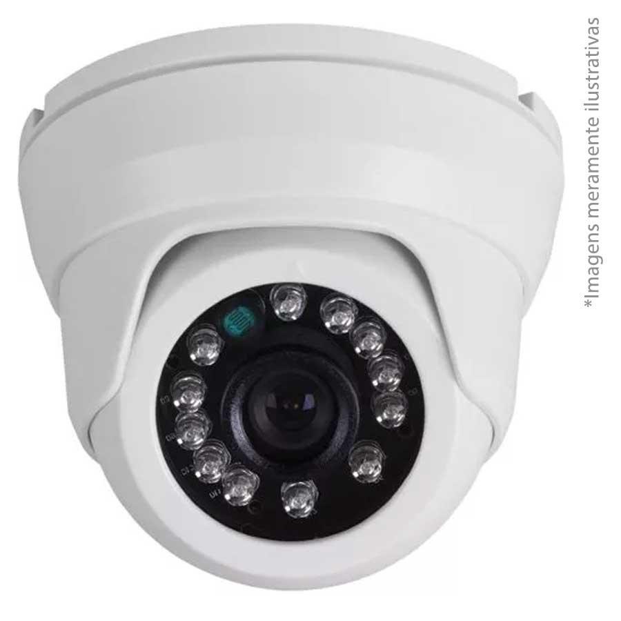 Câmera Dome Infravermelho Híbrida Intelbras VMD 1120 IR G4 - AHD HD 720p e Analógica 900 Linhas lente de 2.6 mm