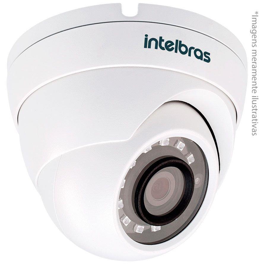 Câmera Infravermelho Multi HD 4 em 1 Intelbras VHD 3220 D G4 Full HD HDCVI com infravermelho - HDCVI, HDTVI, AHD, ANALÓGICO Lente de 2.8