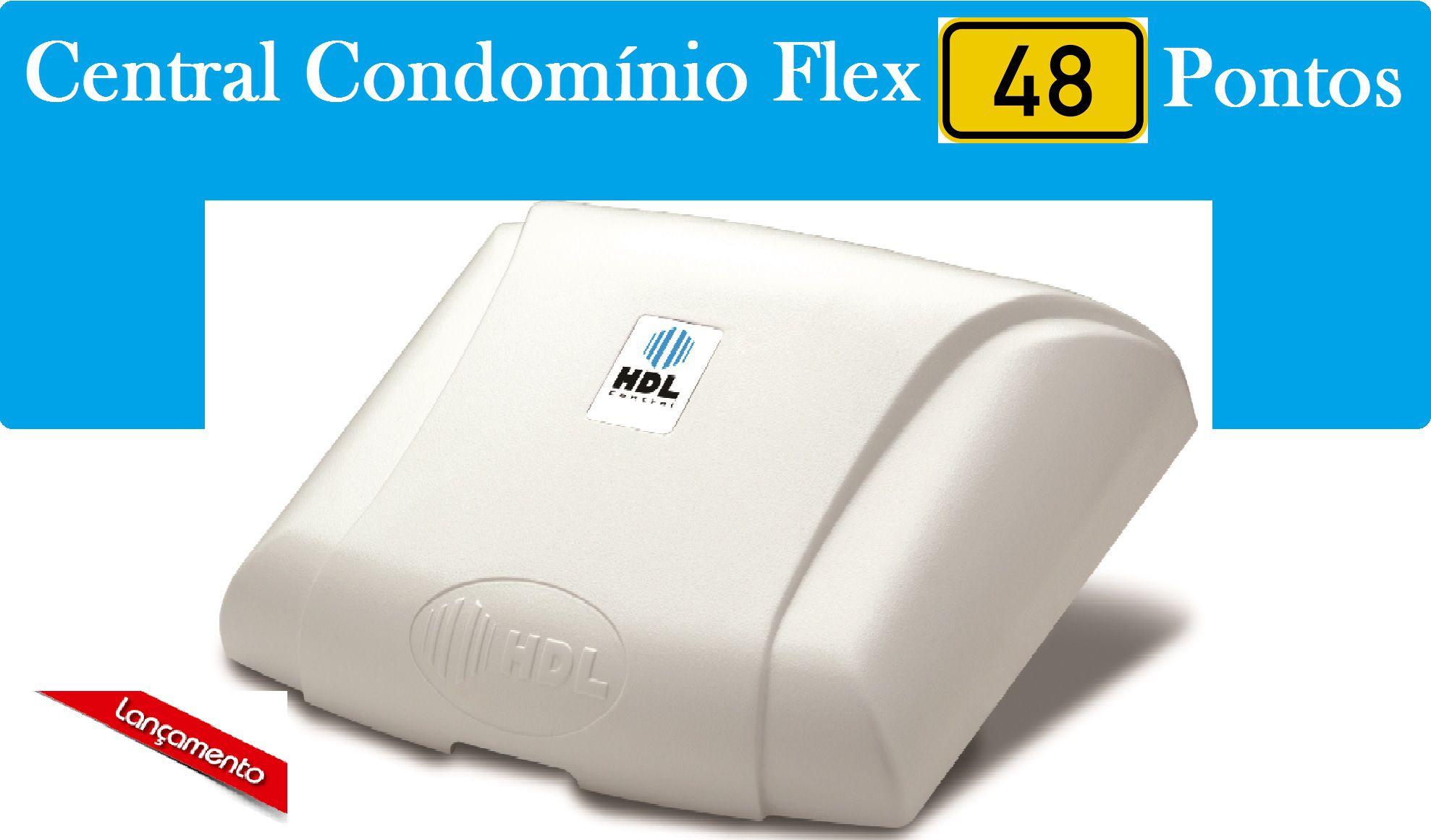 Central Hdl Flex 48p Montada 48 Ramais de Interfonia HDL