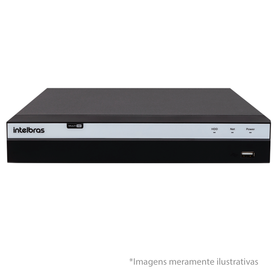 DVR Stand Alone Intelbras MHDX 3116 16 Canais e HD 3-TB