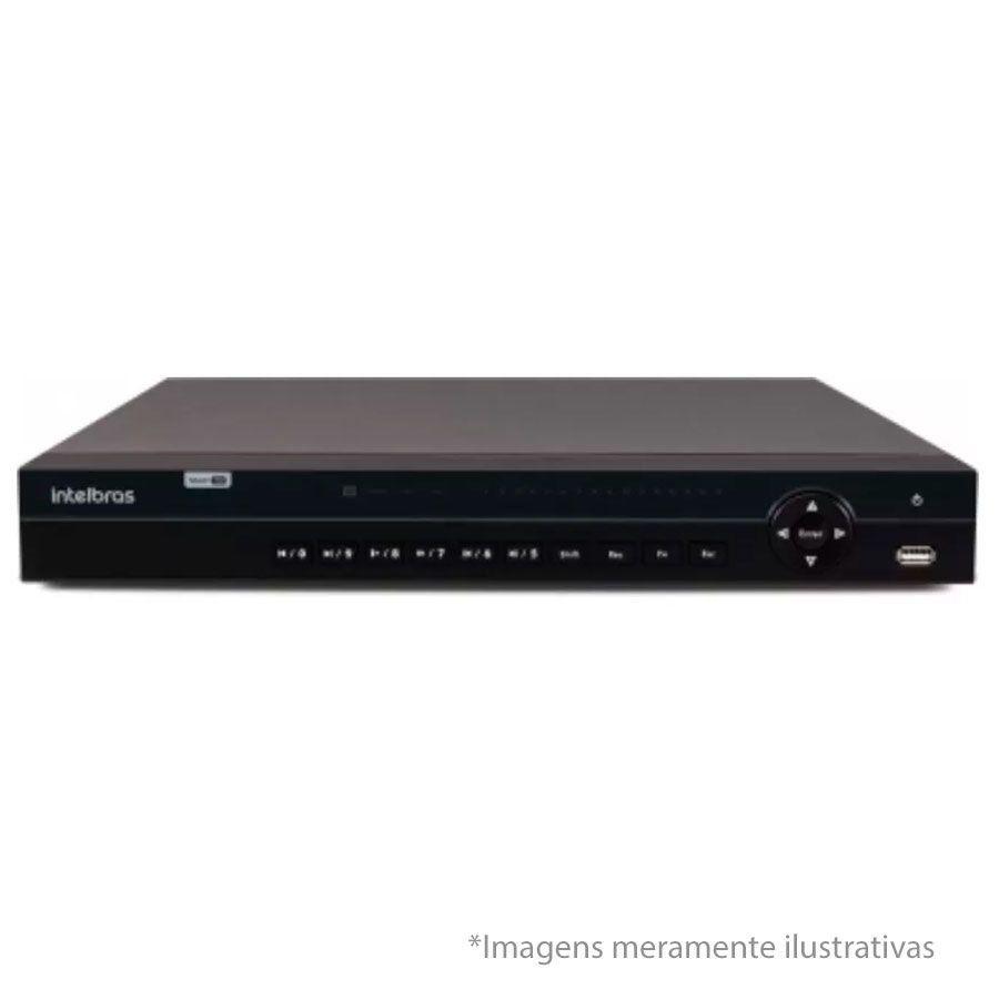 DVR Stand Alone Multi HD Intelbras 1032 32 Canais + HD 4TB WD Purple de CFTV