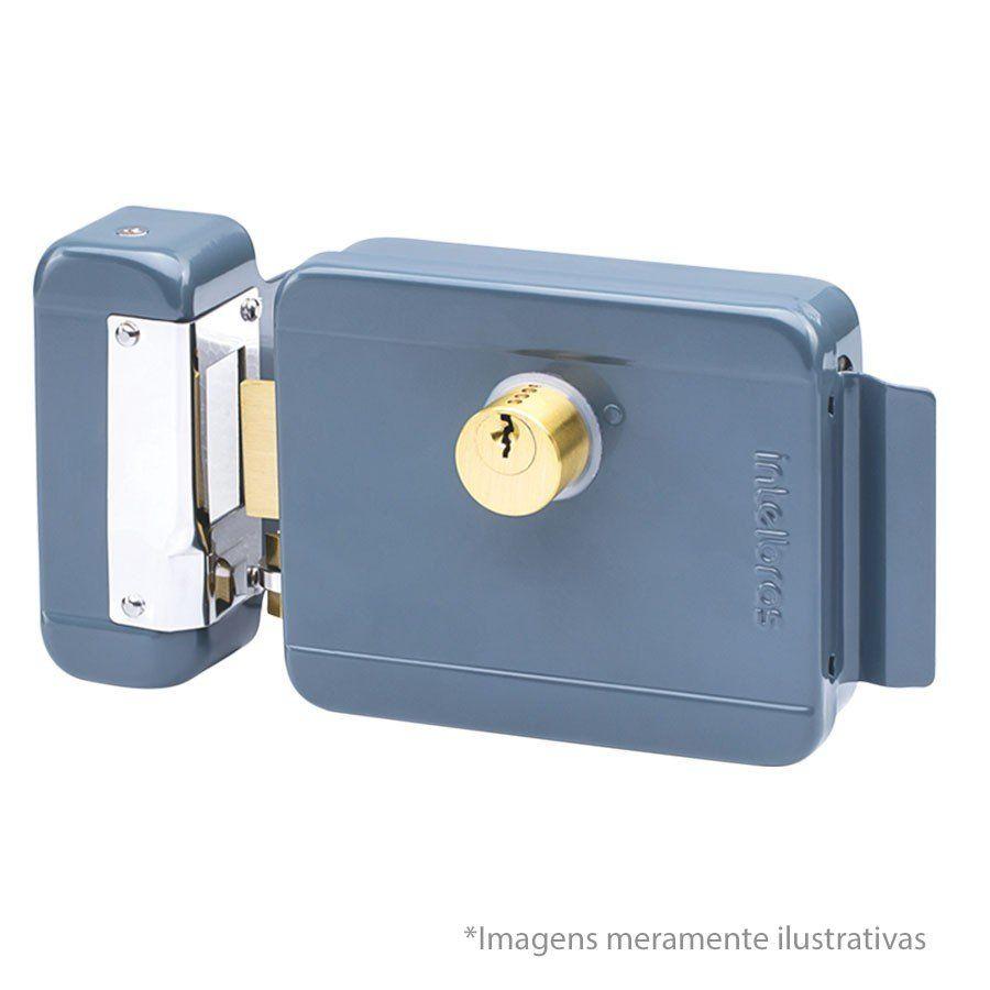 Fechadura Elétrica de Sobrepor FX 2000 - Trinco Reversível com Abertura Direita ou Esquerda,