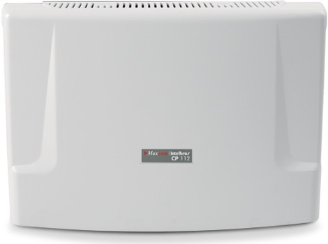Gabinete básico CP 112 sem ramal, central portaria Intelbras/Maxcom