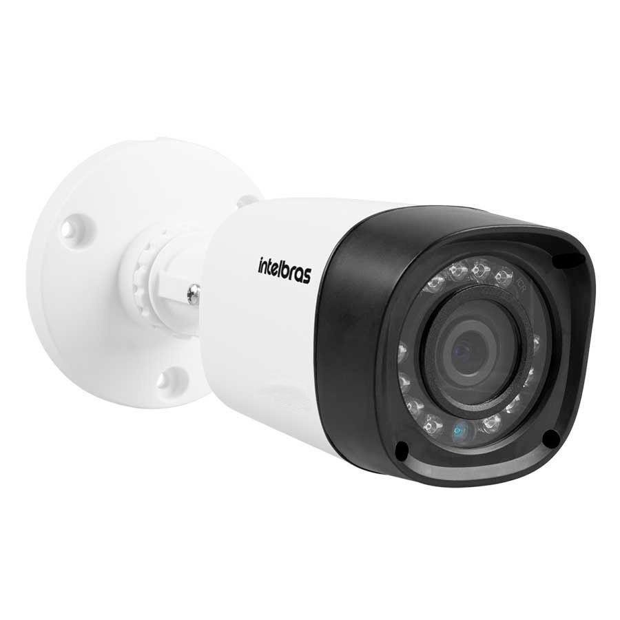 Kit 8 Câmeras de Segurança Intelbras Full HD VHD 1220B IR - DVR Intelbras Full HD 8 Canal + Acessórios