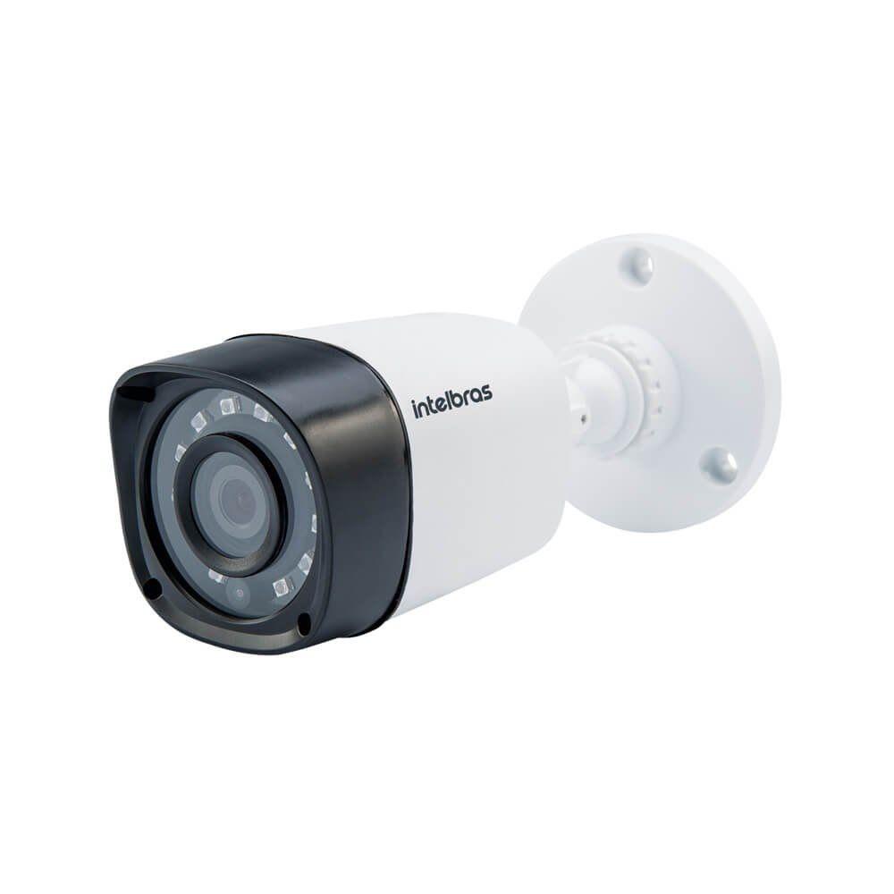 Kit Com 4 Câmeras Intelbras Vhd 1010b G5 Hdcvi Hd 720p Bullet