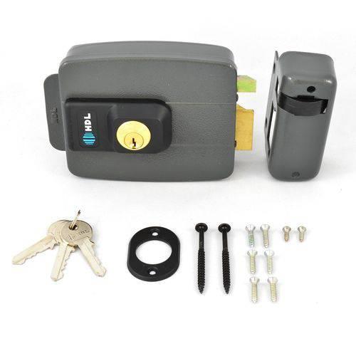 Kit Interfone Hdl Com Câmera Noturna + Fechadura Elétrica C90 Para Portão