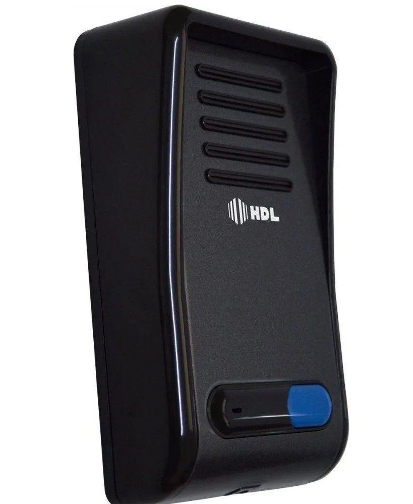 Kit Porteiro Eletrônico HDL F8-NS Grafite Com Interfone AZS-02