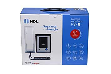 Porteiro Eletrônico HDL F9 S Função Siga-me e Acionamento de Fechadura