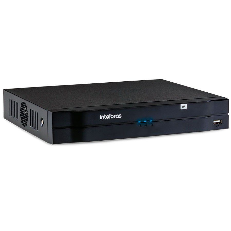 NVR, HVR Stand Alone Intelbras NVD 1208 8 Canais, para Camera IP, OnVif