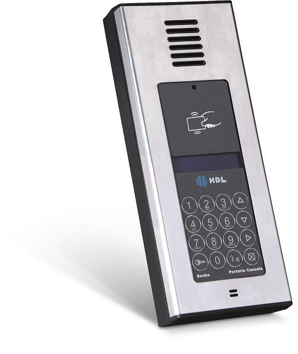 Porteiro externo com vídeo e controle de acesso F12-SVCAX HDL