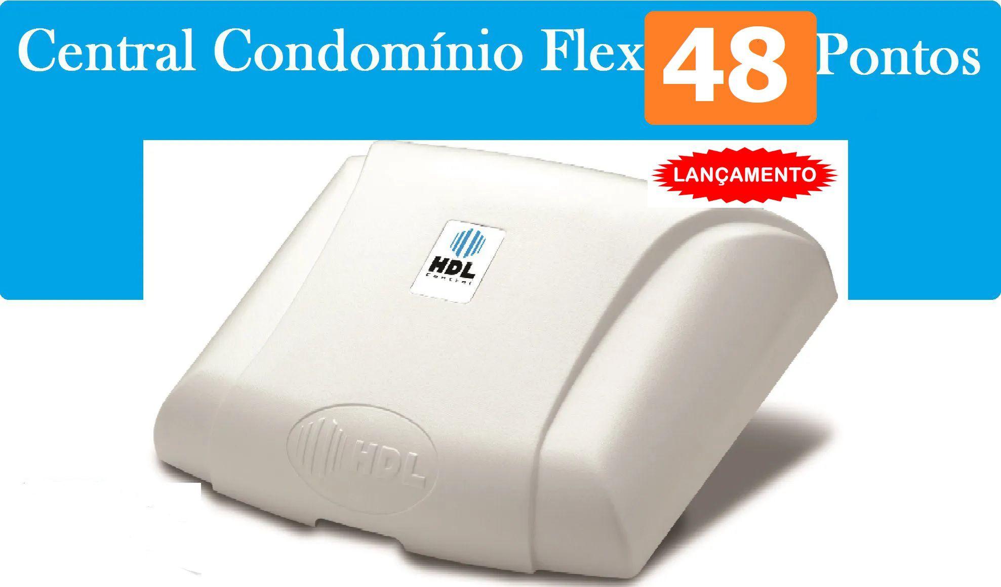 Porteiro Eletrônico Coletivo 32 Ponto 64 Controle Acesso Hdl