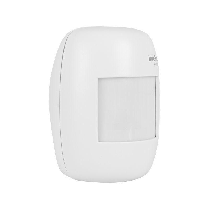 Sensor de Presença Infravermelho IVP 4000 Smart Intelbras Sem Fio Passivo, 2 níveis de sensibilidade, Cobertura com ângulo de 115° e Alcance de 12m