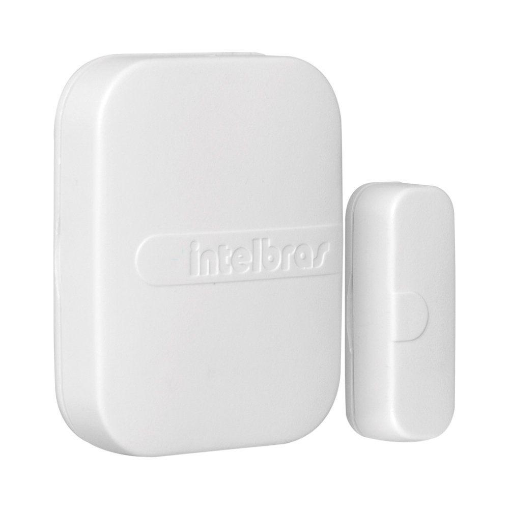 Sensor Magnético de Abertura de Porta e Janela XAS 4010 Smart Intelbras Sem Fio