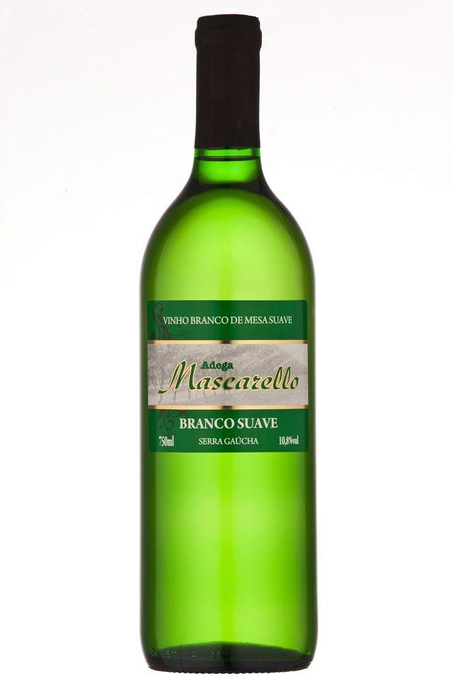 Vinho Branco Suave 750ml