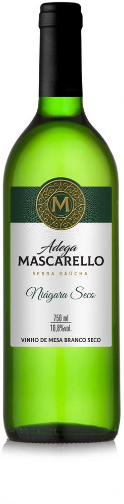 Caixa com 12 un - Vinho Branco Niágara Seco 750ml