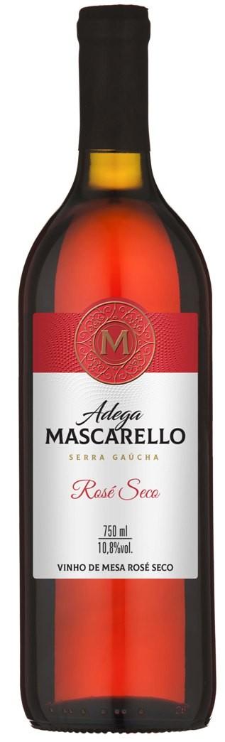 Caixa com 12 un - Vinho Rosé Seco 750ml