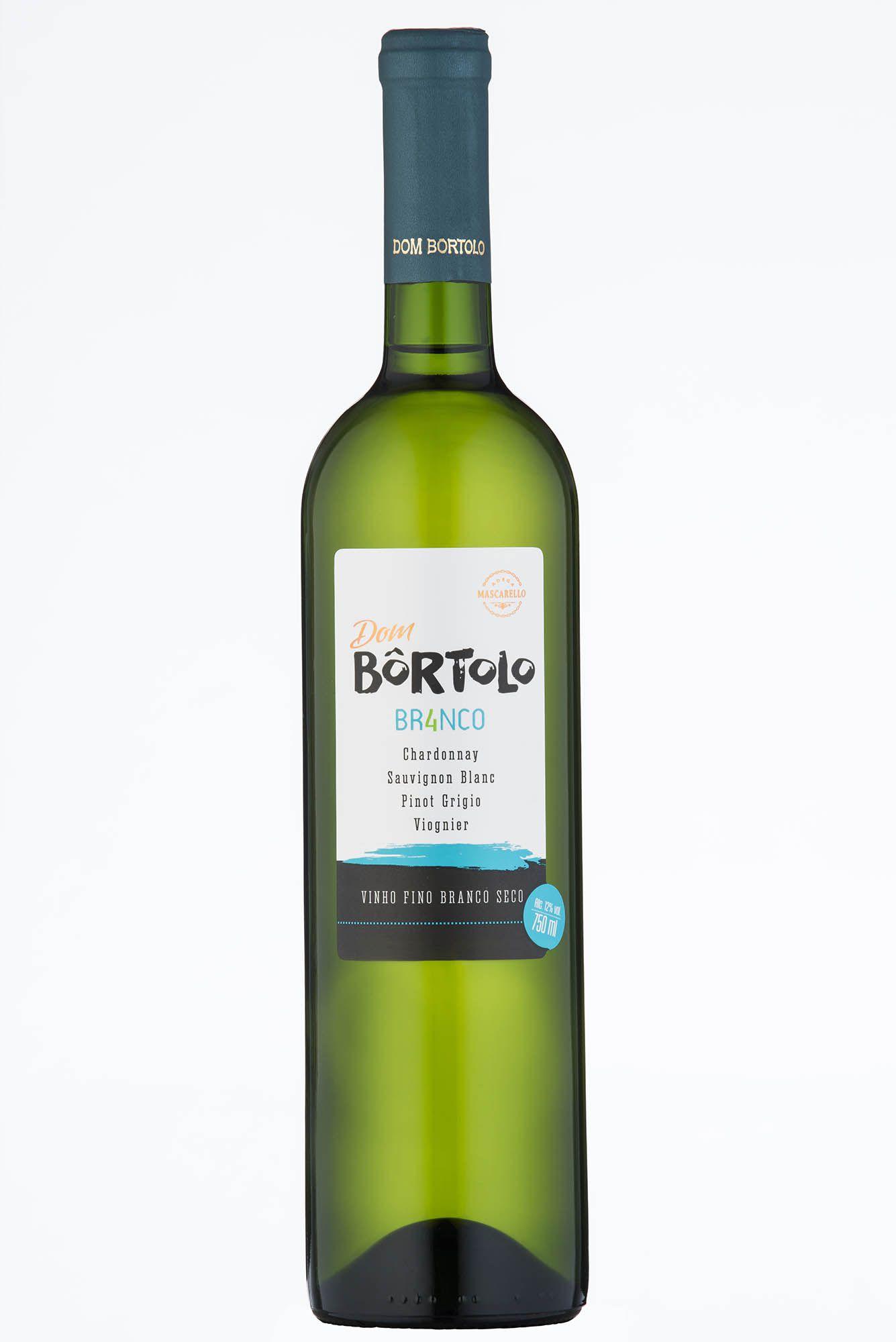 Caixa com 6 un - Vinho Fino Branco Quatro Seco 750ml