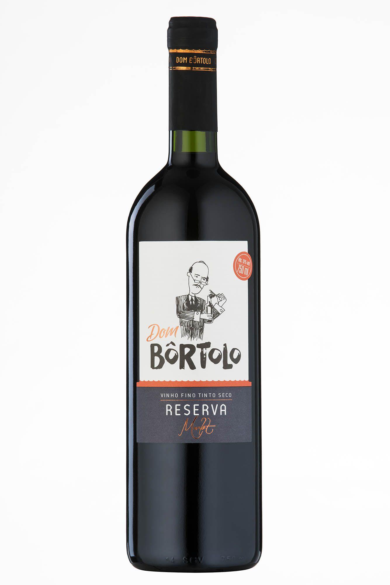 Caixa com 6 un - Vinho Merlot Reserva 750ml