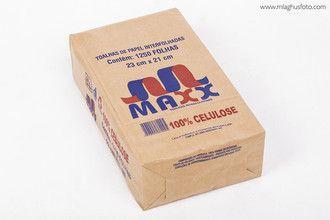 Papel Toalha Branco 1.250 folhas - Maxx