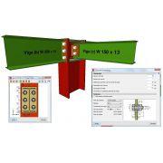 Curso à Distância via Skype sobre Cálculo de Mezaninos Metálicos e suas Ligações - 01/08/19 das 19:00 às 23:00 hrs, com duração de 4 horas (utilizando os softwares CYPECAD, e METÁLICAS 3D)