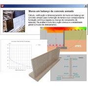 Prestação de Serviços de Suporte Técnico através do Portal do Usuário a utilização do Software Muros de Arrimo (a partir da versão v.2016) por 1 mês a partir da compra