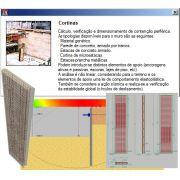 Treinamento Presencial do Software Cortinas Atirantadas,  com duração de 8 horas, no Centro de Treinamento da MULTIPLUS, na Praça da República 386 6º andar São Paulo- SP